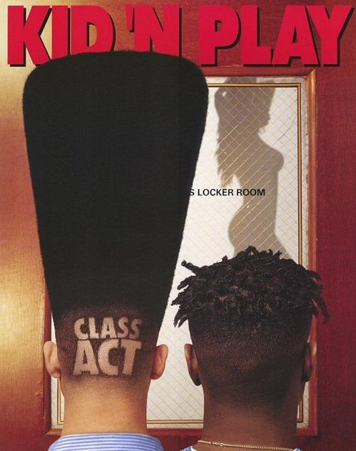 kid n play educate elevate hi top fade
