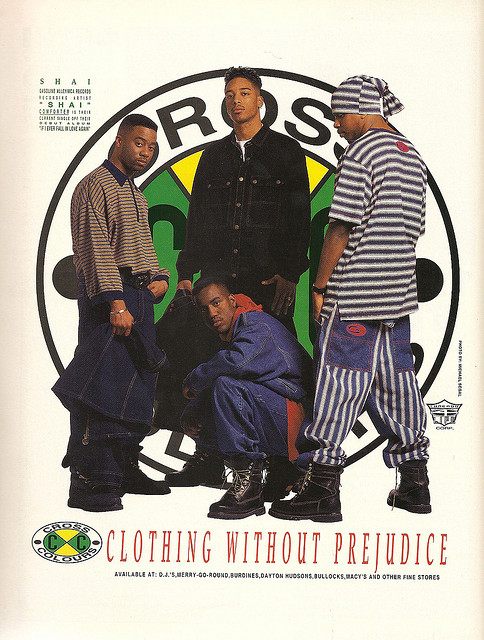 Cross Colors Educate Elevate 90s Streetwear TLC2