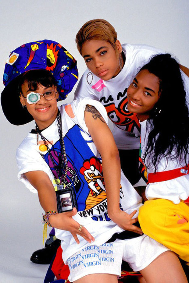 TLC 90S EDUCATE ELEVATE CHILLI T BOZ STYLE
